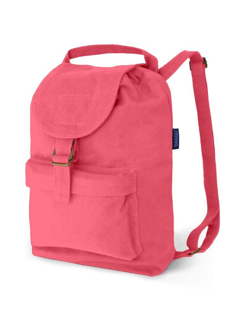 Hot Pink Backpack - BAGGU